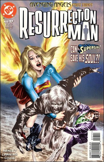 Resurrection Man (1997) 17-A by DC