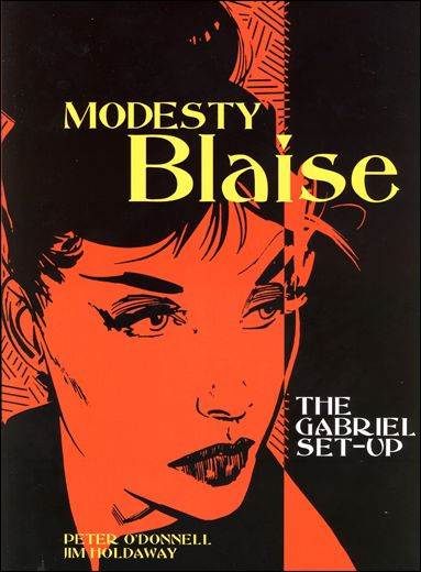 Modesty Blaise 1-A by Titan
