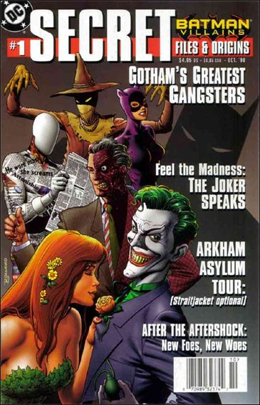 Batman Villains: Secret Files and Origins 1-A by DC