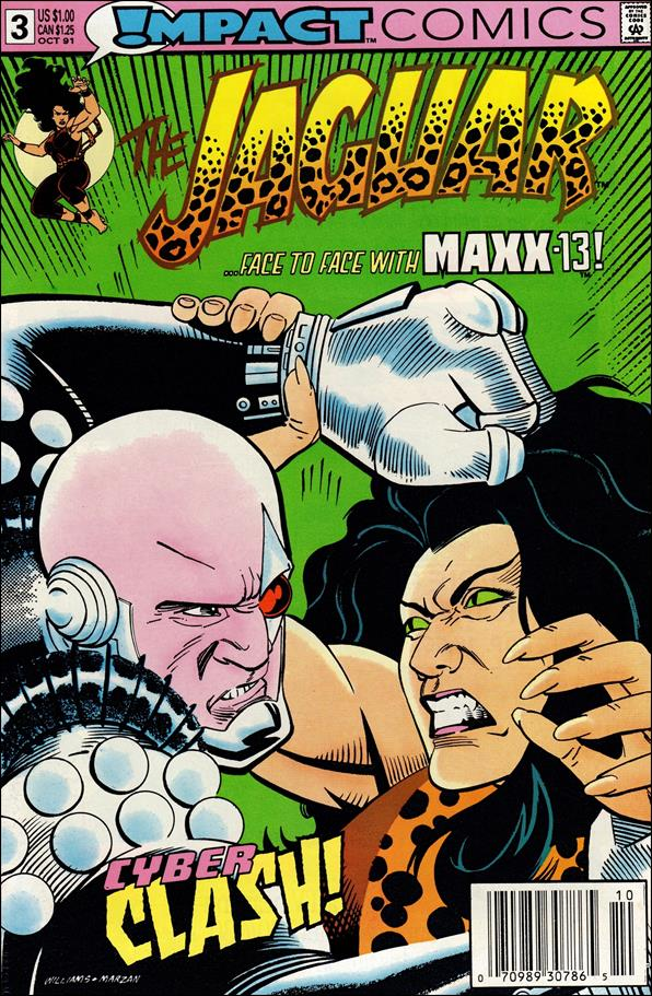 Jaguar 3-A by Impact Comics