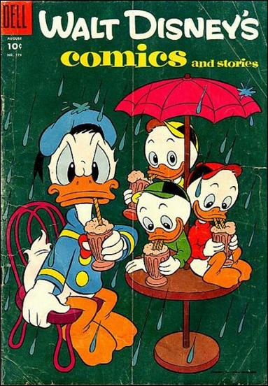 Walt Disney's Comics and Stories (1940) 179-A by Dell