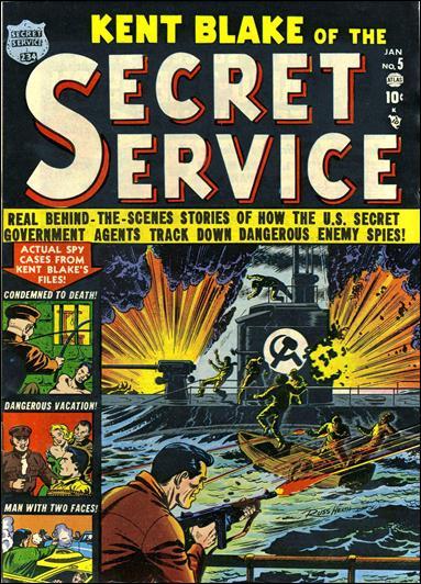 Kent Blake of the Secret Service 5-A by Atlas