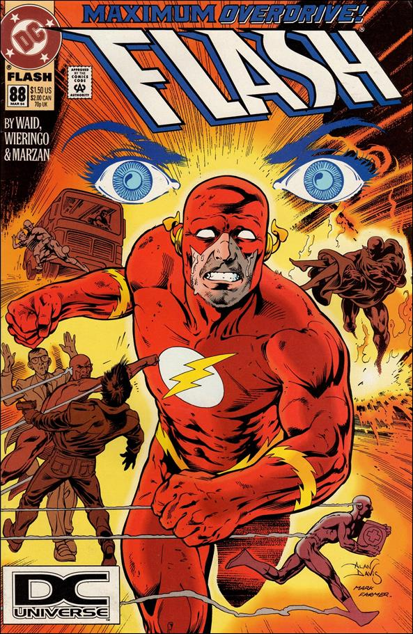 Flash (1987) 88-A by DC