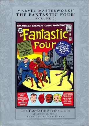 Marvel Masterworks: The Fantastic Four 2-A
