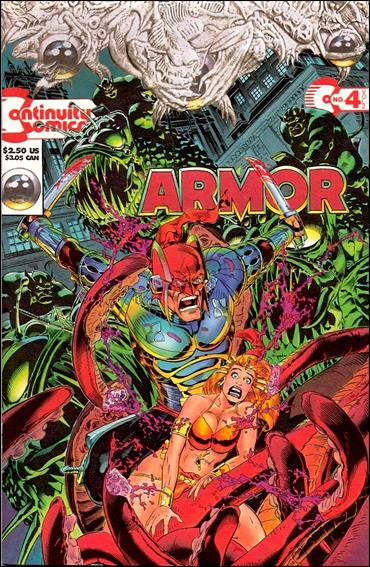 Armor (1993) 4-A by Continuity Comics