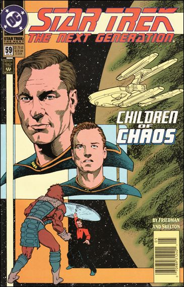Star Trek: The Next Generation (1989) 59-A by DC