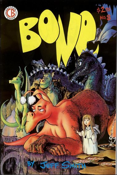 Bone (1991) 8-C by Cartoon Books