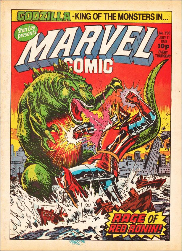 Marvel Comic (UK) 350-A by Marvel UK