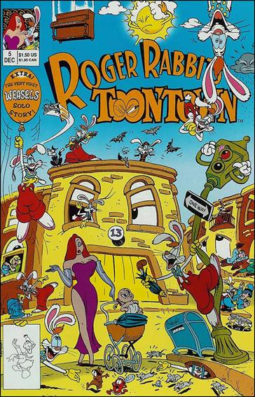 Roger Rabbit's Toontown 5-A by Disney