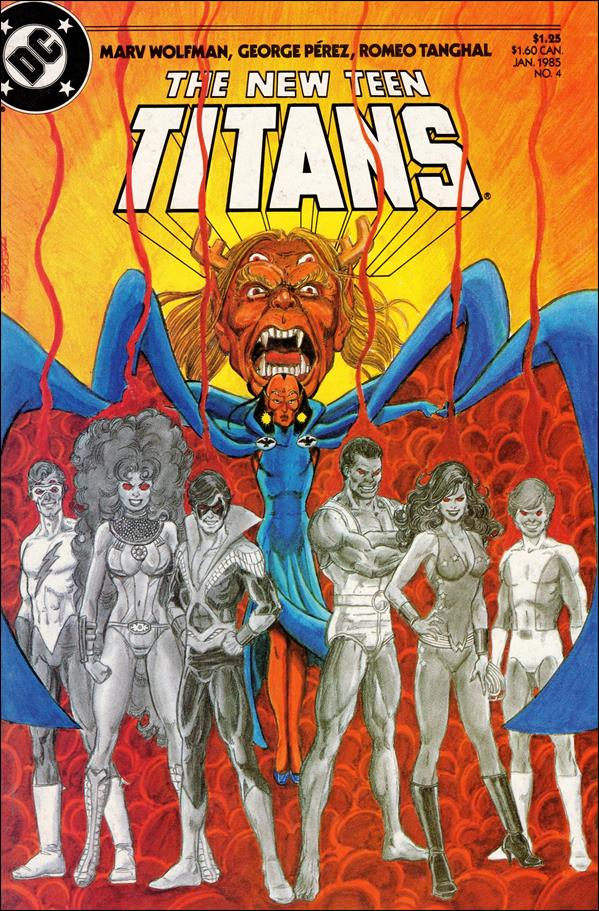 New Teen Titans (1984) 4-A by DC