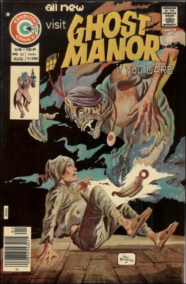 Ghost Manor (1971) 30-A by Charlton