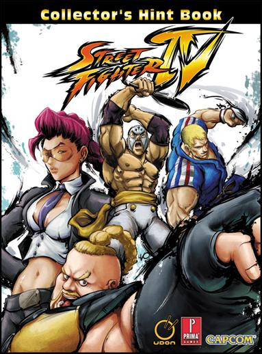 Street Fighter IV Collector's Hint Book 1-A by Udon