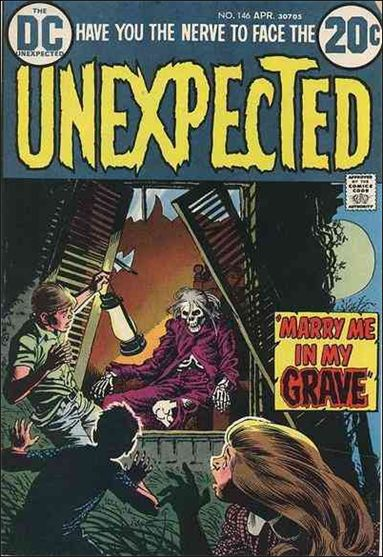 Unexpected (1968) 146-A by DC