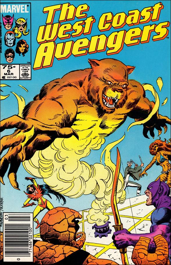 West Coast Avengers (1985) 6-A by Marvel