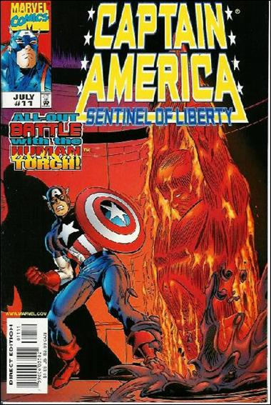 Captain America: Sentinel of Liberty 11-A by Marvel