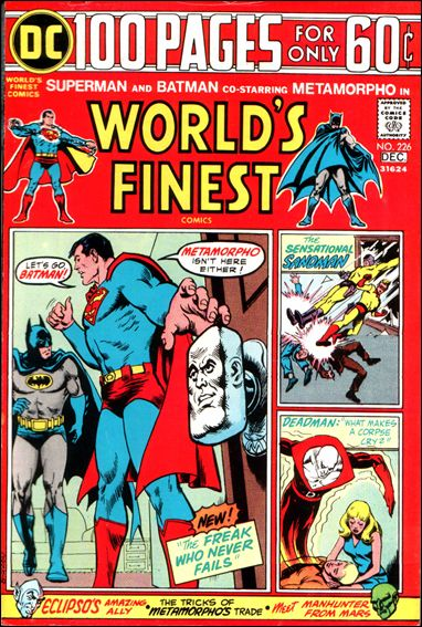 World's Finest Comics 226-A by DC