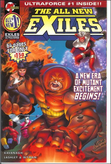All New Exiles 1-B by Malibu
