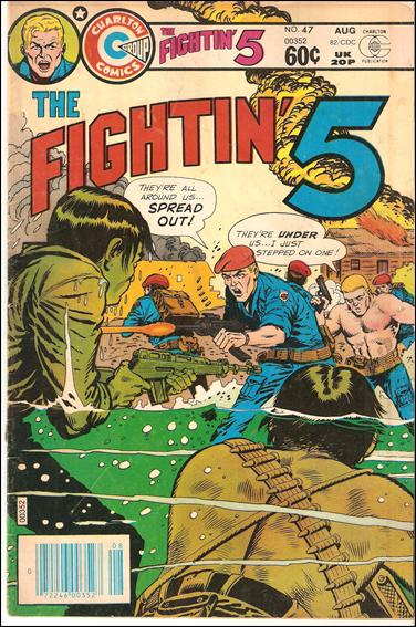 Fightin' 5 47-A by Charlton