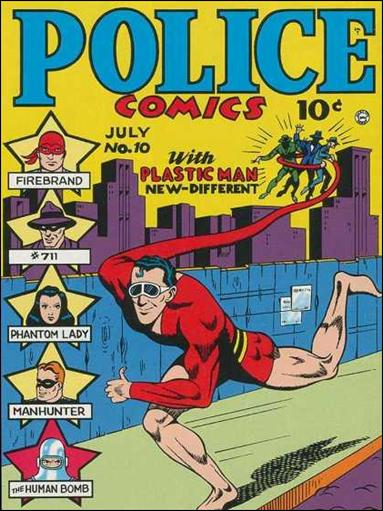 Police Comics 10-A by Comic Magazines
