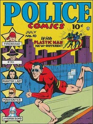 Police Comics 10-A