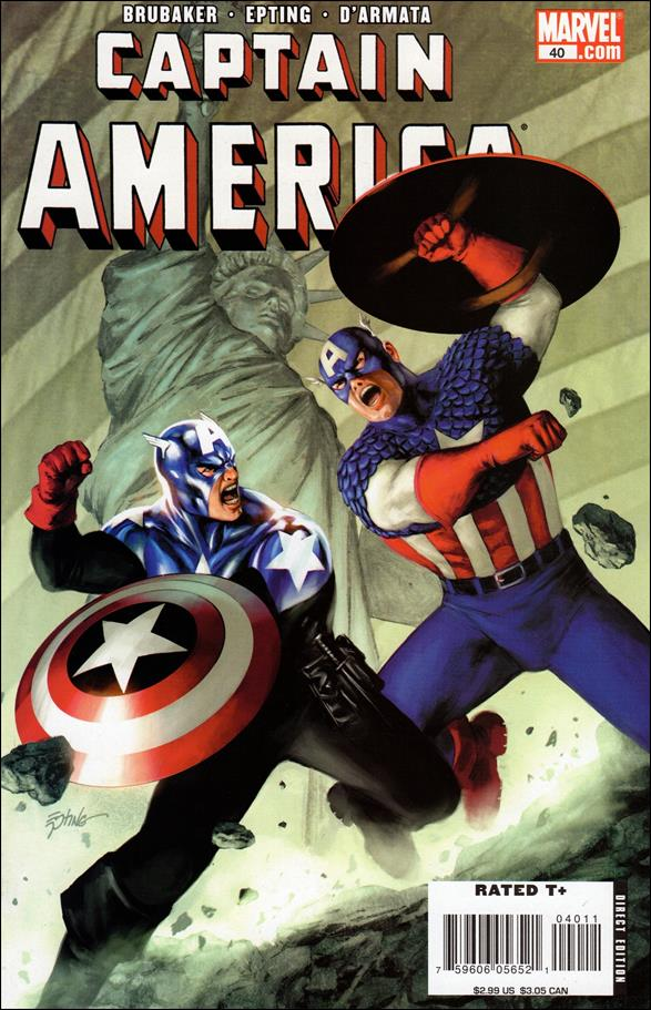 Captain America (2005) 40-A by Marvel