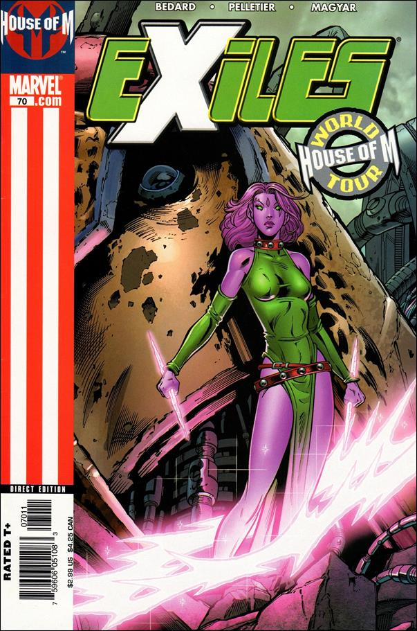 Exiles (2001) 70-A by Marvel