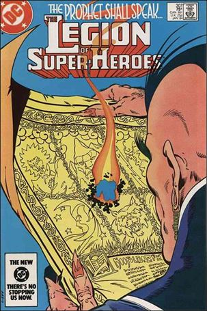 Legion of Super-Heroes (1980) 307-A