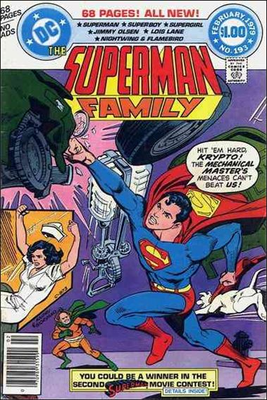 Superman Family 193-A by DC