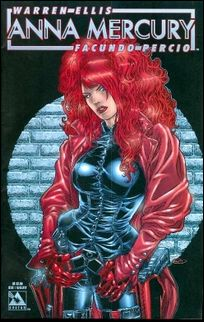 Anna Mercury 1-E by Avatar Press