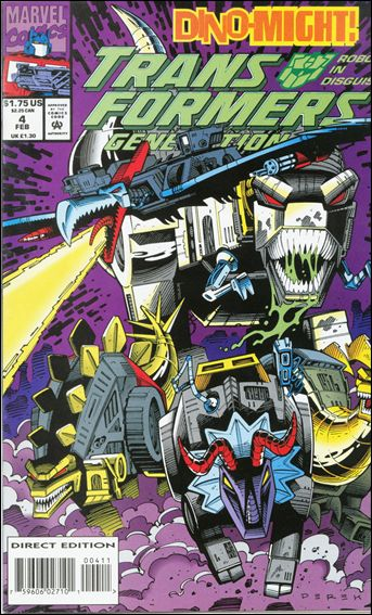 Transformers: Generation 2 (1993) 4-A by Marvel