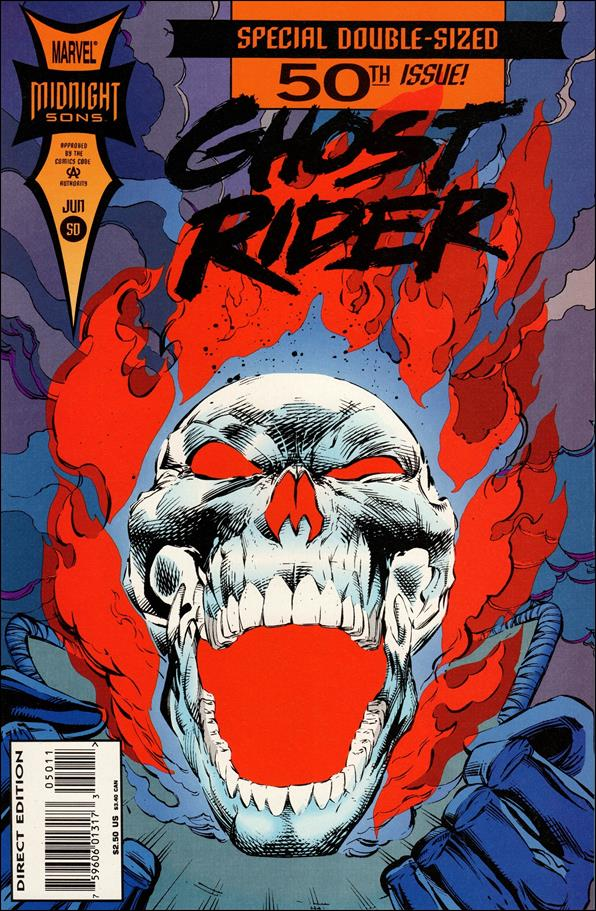 Ghost Rider (1990) 50-A by Marvel
