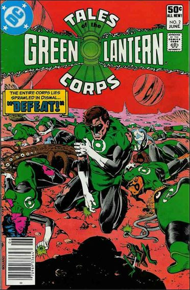 Tales of the Green Lantern Corps 2-A by DC