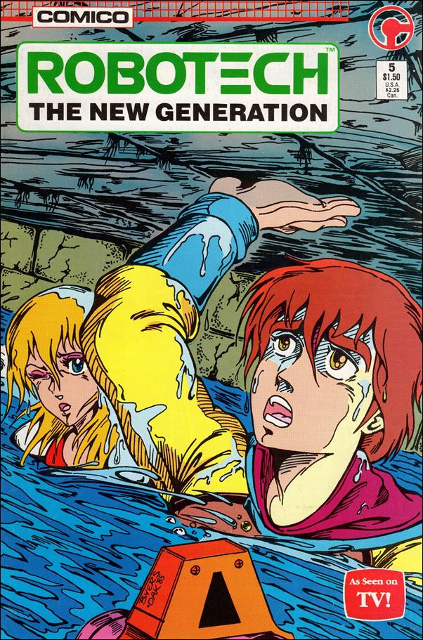 Robotech: The New Generation 5-A by Comico