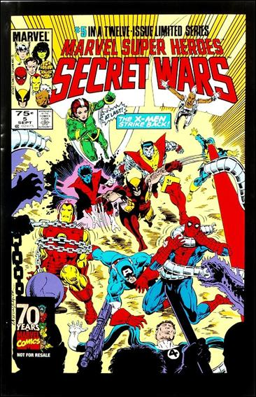 Marvel Super Heroes Secret Wars 5-C by Marvel