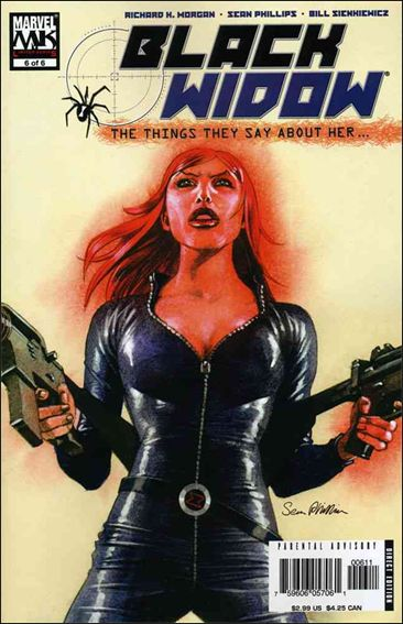 Black Widow: The Things They Say About Her 6-A by Marvel