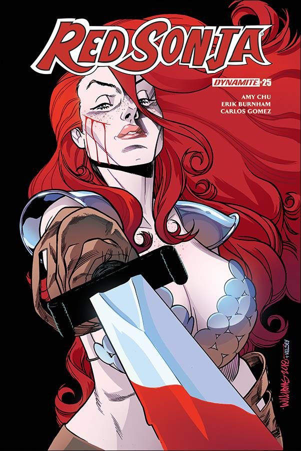 Red Sonja (2017) 25-D by Dynamite Entertainment
