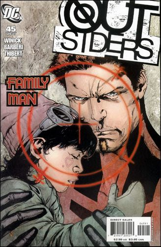 Outsiders (2003) 45-A by DC