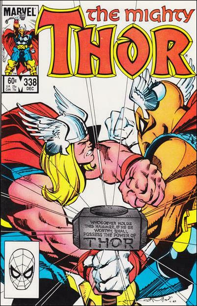 Thor (1966) 338-A by Marvel