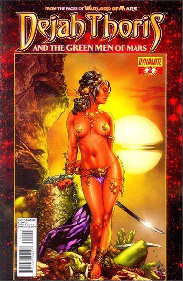 Dejah Thoris and the Green Men of Mars 2-A by Dynamite Entertainment