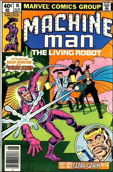 Machine Man (1978) 16-A by Marvel