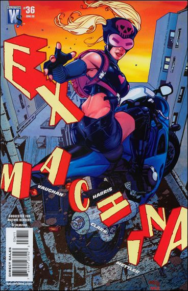 Ex Machina 36-A by WildStorm
