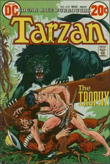 Tarzan (1972) 218-A by DC