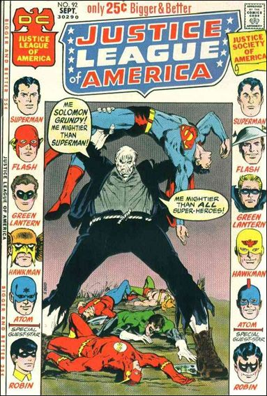 Justice League of America (1960) 92-A by DC