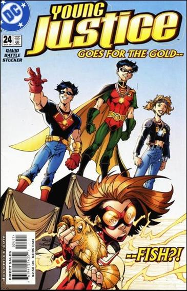 Young Justice (1998) 24-A by DC