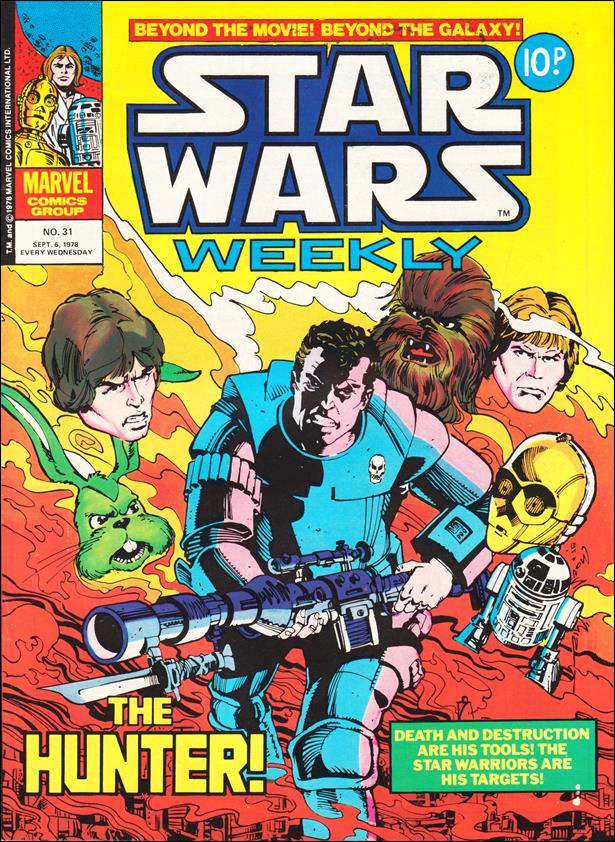 Star Wars Weekly (UK) 31-A by Marvel UK