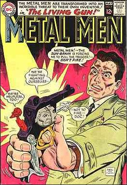 Metal Men (1963) 7-A by DC