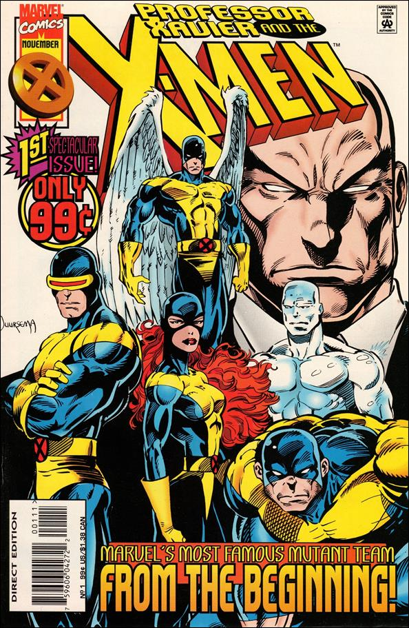Professor Xavier and the X-Men 1-A by Marvel