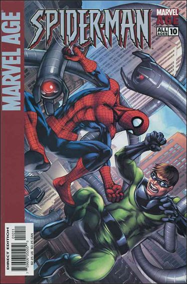 Marvel Age: Spider-Man 10-A by Marvel