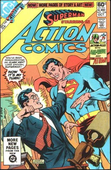 Action Comics (1938) 524-A by DC