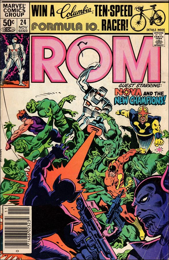 ROM (1979) 24-A by Marvel